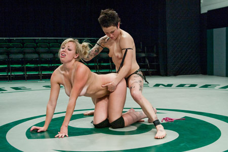 all girl fight club strap on sex