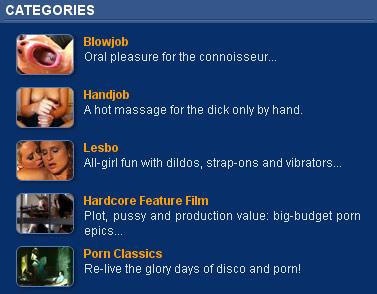 orgazmik categories