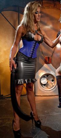 rubber corset set fetish