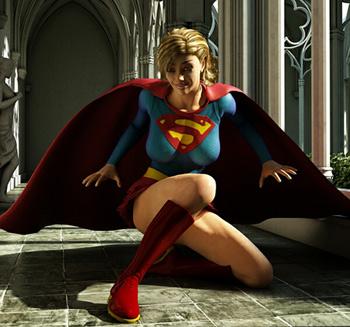 supergirl 3d hentai
