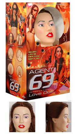 agent 69 love doll face