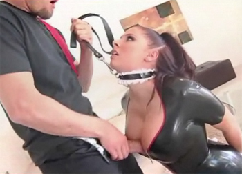 gianna michaels rubber tit fuck