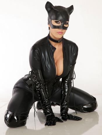 katwoman kneeling