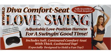 diva comfort seat love swing