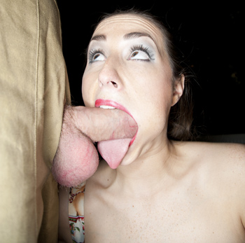 paige turnah cheek bulge tongue bj