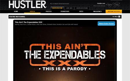 hustler expendables xxx