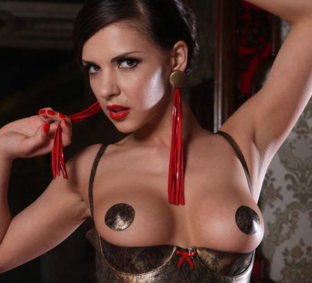 henessy latex geisha nipple tassels