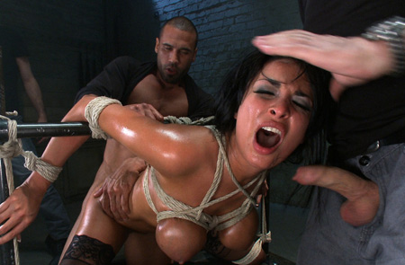 anissa kate bondage sex frame