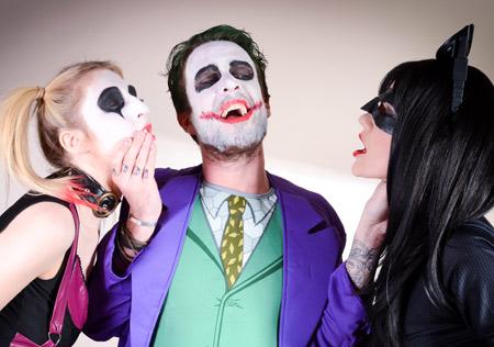 Harley Quinn Catwoman Joker