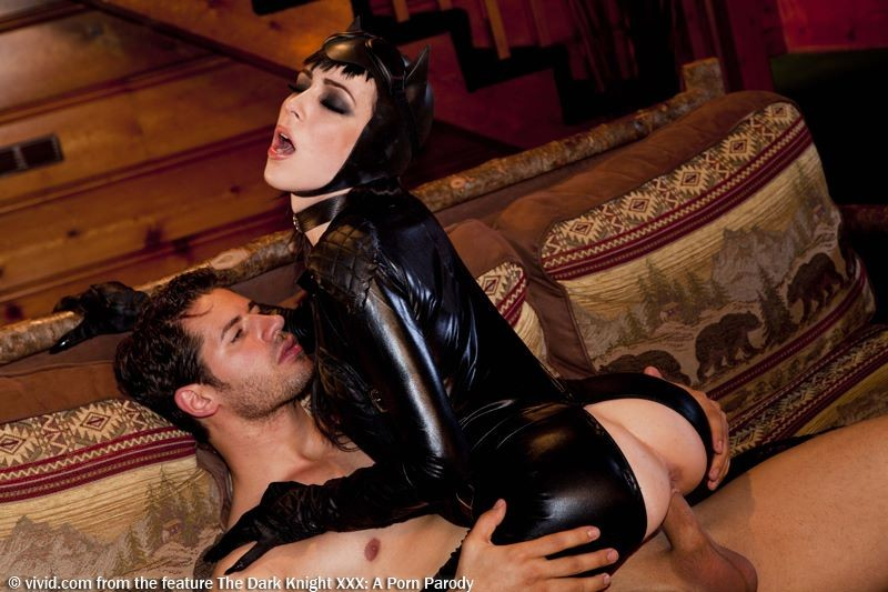 Aiden Ashley is Catwoman